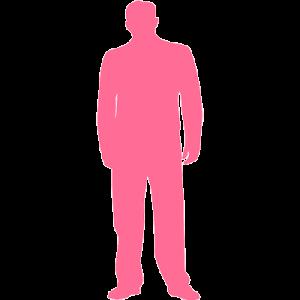Icon Mensch rosa