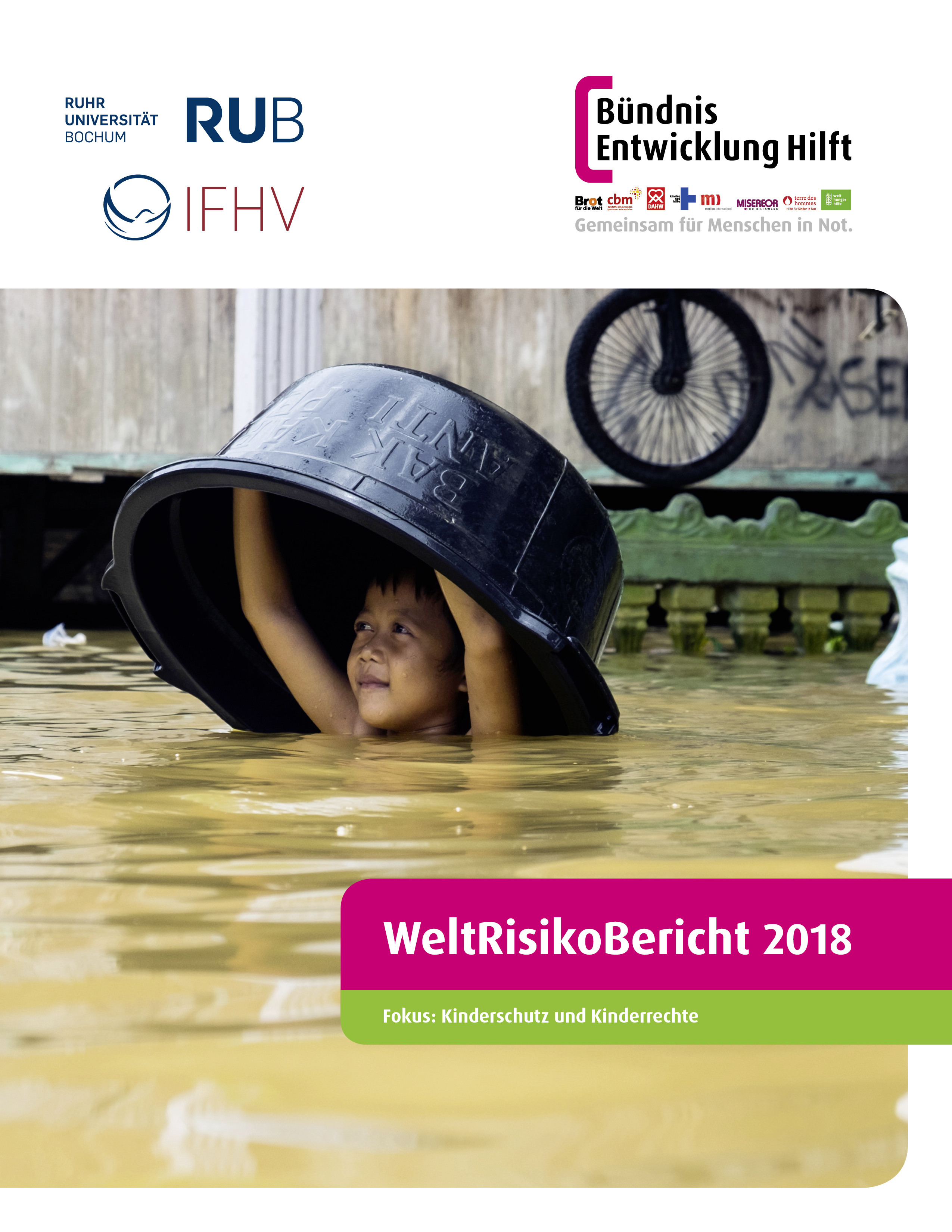 Cover WeltRisikoBericht 2018