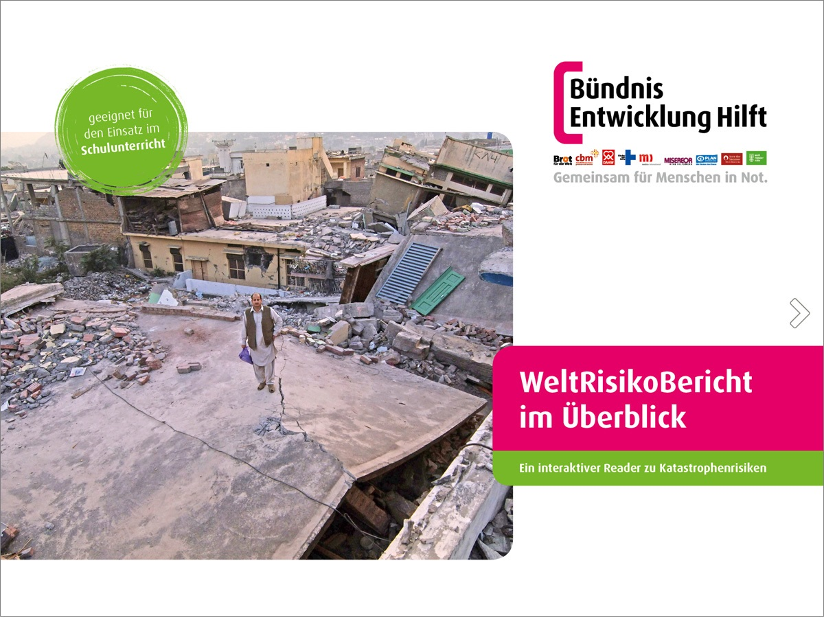 Cover E-Paper WeltRisikoBericht im Überblick