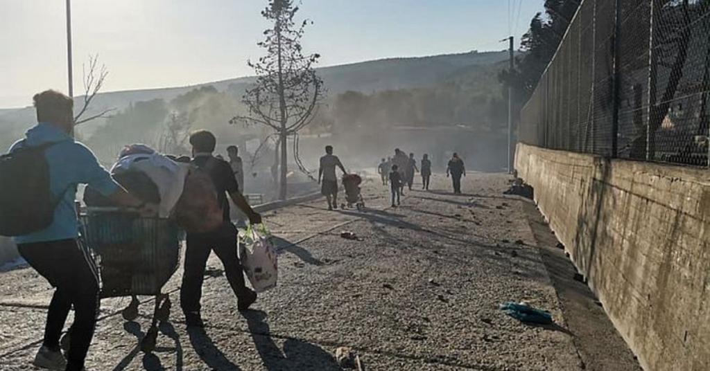 """""""In Moria haben wir glasklare Menschenrechtsverletzungen gesehen"""""""