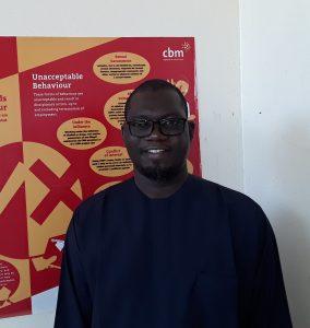 Boureima Adamou, Country Director der Christoffel Blindenmission im Niger