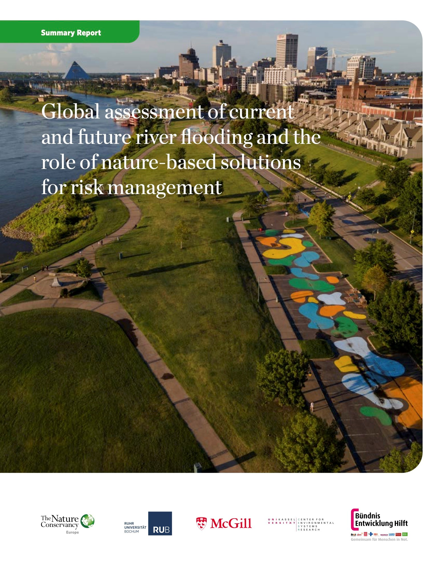 Cover TNC Report Global-Riverine-Flood-Assessment Summary Report