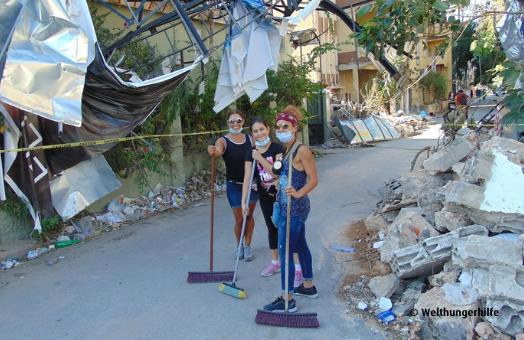 """Nach der Explosion in Beirut  – """"Niemand wurde zur Verantwortung gezogen"""""""